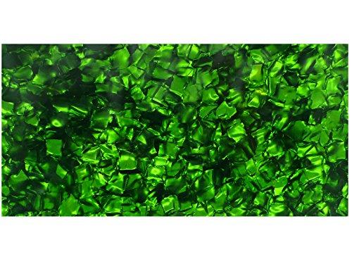 incudo grün Perloid Zelluloid Blatt–200x 100x 0.46mm (20,1x 10x 0,1cm)