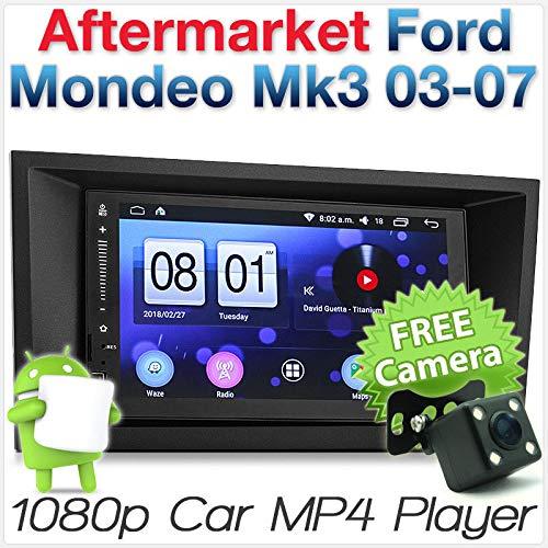 Tunez - Reproductor de Coche para Ford Mondeo Mk3 2003 y 2004 (USB, MP3, estéreo)