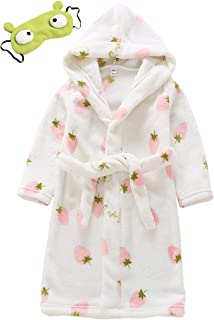 AOWKULAE Boys Girls Hoodie Robes 2T- 8T
