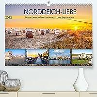NORDDEICH-LIEBE (Premium, hochwertiger DIN A2 Wandkalender 2022, Kunstdruck in Hochglanz): Bezaubernde Momente vom Urlaubsparadies (Monatskalender, 14 Seiten )