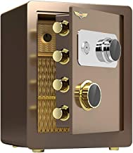 Mechanical Lock Box Home Small Cabinet Safe with Key Jewelry Cash Box Anti-Theft Fireproof Hotel Bedside Table Office File...