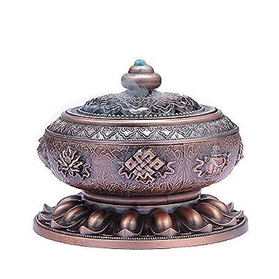 MEDOOSKY Tibet Lotus Incense Burner