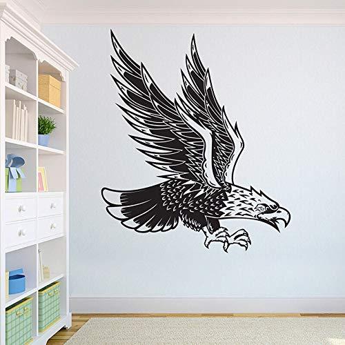 hetingyue Belle adelaar wolf wandtattoo wilde Afrikaanse leeuw dieren kantoor thuis design wanddecoratie huis
