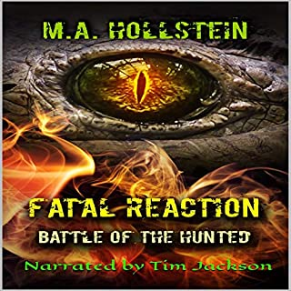Fatal Reaction, Battle of the Hunted, Book 3 cover art