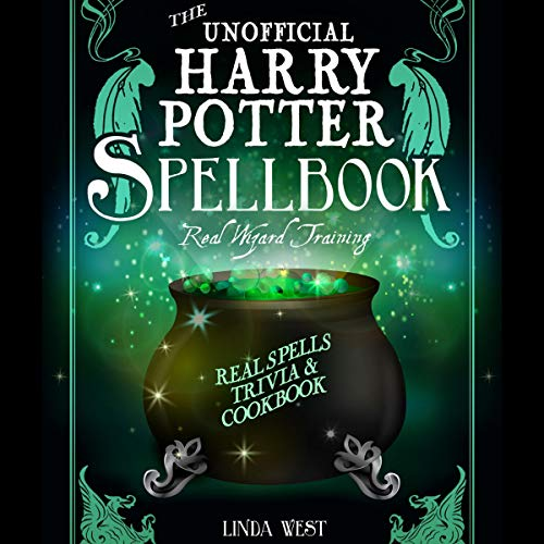 The Unofficial Harry Potter Spell Book audiobook cover art