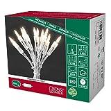 Konstsmide 6302-123 LED Minilichterkette / für Innen (IP20) 230V Innen / One String / mit Schalter / 35 warm weiße Dioden / transparentes Kabel