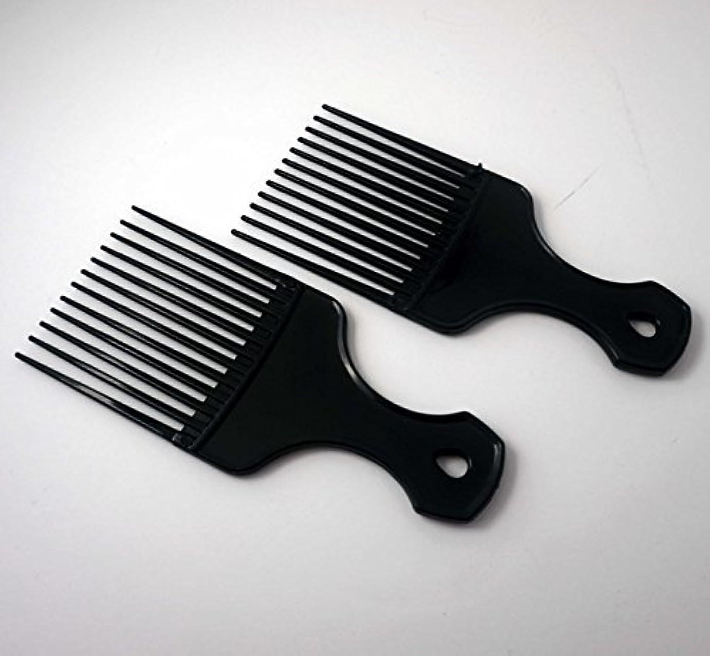 昨日資金回復7in Plastic Pick Comb [並行輸入品]
