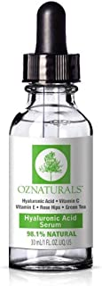 Oz Naturals Hyaluronic Acid Serum, 30 ml