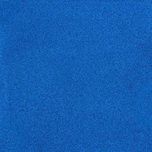 Farbsand, Dekosand farbig ca 0,5 mm. 1 KG in BLAU -90