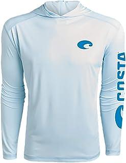 Costa Del Mar Men's Tech Hood Performance Long Sleeve Shirt