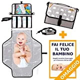 Fasciatoio Portatile BABYTREASURE - IN OMAGGIO Tracolla e...