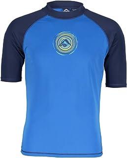 Kanu Surf Men's Paradise UPF 50+ Short Sleeve Sun Protective Rashguard Swim Shirt
