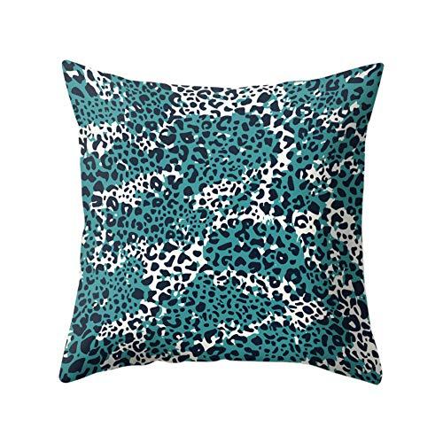 Preisvergleich Produktbild JujubeZAO Kissenbezug,  Leopardenmuster,  Kissenbezug für Sofa,  Schlafzimmer,  Auto,  Café,  Büro,  Dekoration für Zuhause 13
