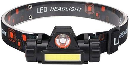 Faróis de LED BESPORTBLE, recarregáveis, com alto brilho, luz de trabalho rotativa para acampamento, pesca, corrida, camin...