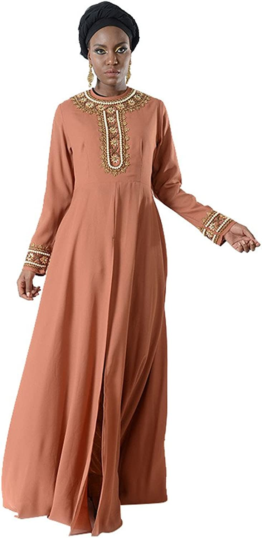 Embellished Split Open Eid Abaya Set