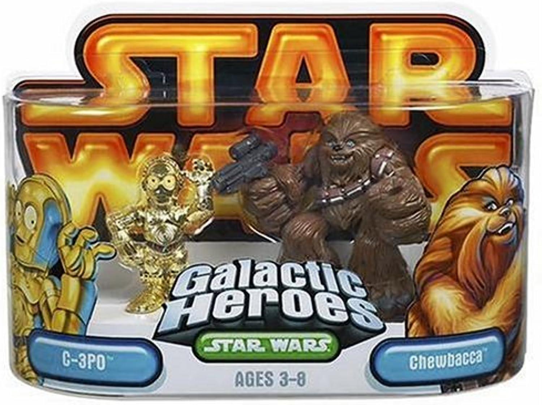 Star Wars Episode 2 Junior Figure 2 Pack Chewbacca & C3PO