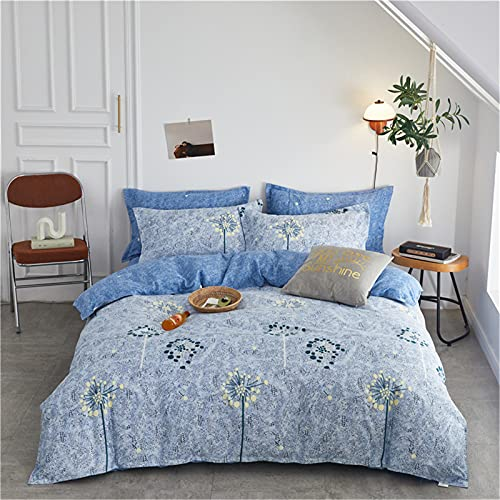 CCBAO Ropa De Cama Textiles para El Hogar, Fundas De Edredón con Estampado De Moda, Fundas De Almohada Son Simples Y Fáciles De Limpiar 150x200cm