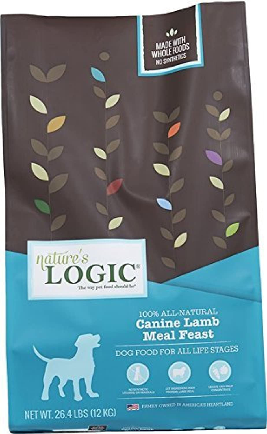 NATURE'S LOGIC Canine Lamb Kibble26.4 Pound, Large by NATURE'S LOGIC