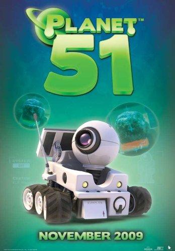 Planet 51 POSTER Movie (2009) Style L 11 x 17 Inches - 28cm x 44cm (Dwayne Johnson)(Jessica Biel)(Justin Long)(Gary Oldman)(Seann William Scott)(John Cleese)(Freddie Benedict)