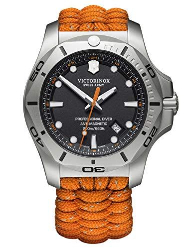 Victorinox Hombre I.N.O.X. Professional Diver - Reloj de Acero Inoxidable de Cuarzo analógico de fabricación Suiza 241845