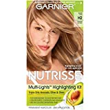 10. Garnier Nutrisse Nourishing Hair Color Creme, H2 Golden Blonde (Packaging May Vary)