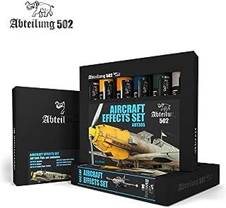 ABTEILUNG 502 Aircraft Effects Set, 6 x 20ml