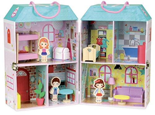 Vilac vilac6314casa de muñecas en Maleta