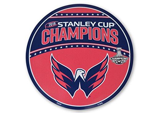 NHL Washington Capitals 12' Vinyl Magnet, Red & Navy,