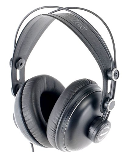 Superlux hd662b Headset–Kopfhörer (ohrumschließend, 10–30000Hz, Neodym, verkabelt, Schwarz)