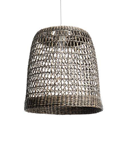 LUSSIOL Bogota lámpara, color madera oscura