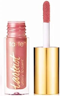 Tarte Tarteist Glossy Lip Paint ~ Mini 0.034 fl oz ~ (Rosy Nude) Goals