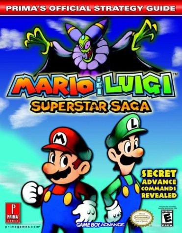 Mario & Luigi: Superstar Saga: Prima's Official Strategy Guide