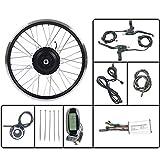 LiRongPing Bicicleta eléctrica 36V350W Frente Kit de conversión EBIKE Motor de Cubo de Rueda con LCD6 Display 16-28 Pulgadas 700C con radios y llanta,27.5inch LCD Sets