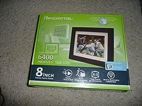 Pandigital PI8056W01B 8-Inch LCD Digital Photo Frame (Espresso) 1GB