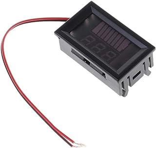 HELYZQ DC 12 V-72 V indicador de capacidade da bateria digital de chumbo-ácido