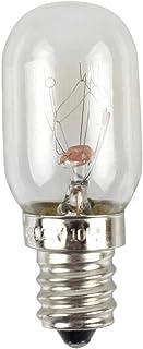 mementoy 2 bombillas LED para frigorífico E12, 10 W, bajo consumo, luz blanca cálida 2700 K, voltaje, 110 – 130 V