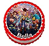 Toy Story 4 Toystory 4 Round Edible Cake Image Topper