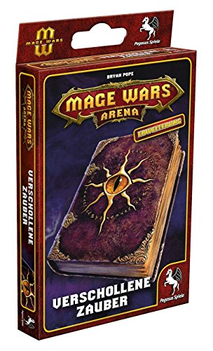 Pegasus Spiele 58052G - Mage Wars Arena Verschollene Zauber