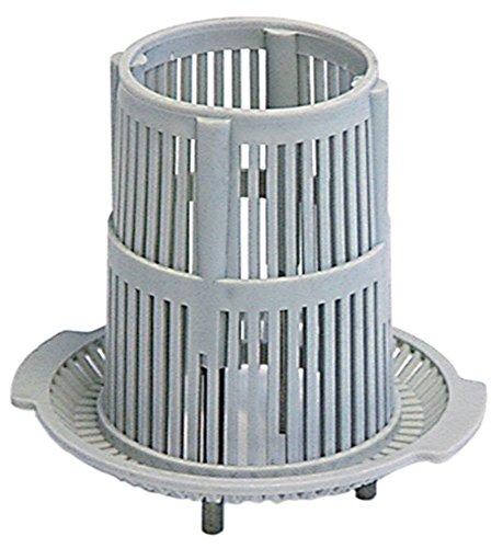 Comenda Rundfilter für Spülmaschine BC25A, BC30A, FC43, FC43A, BC25, BC30 ø 100mm Höhe 90mm Ansaug