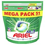 Ariel All-in-1 Pods Washing Liquid Laundry Detergent Tablets/Capsules, 51 Washes, Original