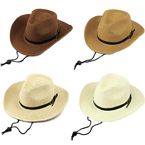 [セウルブルー] 帽子 テンガロン 麦わら ハット 折りたたみ 子供 用 キッズ 男の子 女の子 つばつき つばひ...