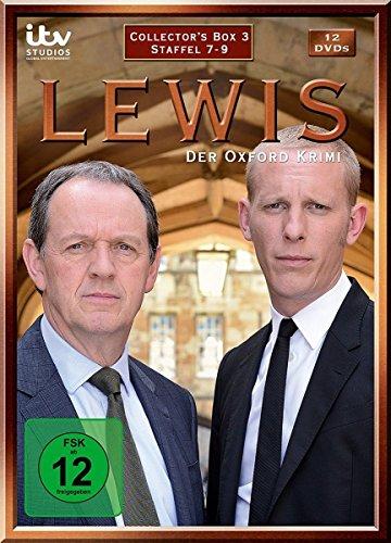 Lewis - Der Oxford Krimi - Collector's Box 3 [12 DVDs]