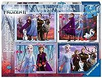 8853 ディズニー アナと雪の女王2 ジグソーパズル パズル 100ピースx4種  Disney Puzzle [並行輸入品]