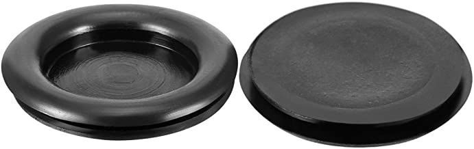 uxcell Wire Protector Oil Resistant Armature Rubber Grommets 30mm Mounting Dia 10Pcs Black