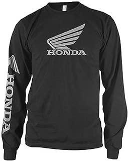 Honda Collection Wing Long Sleeve T-Shirt - Small/Black