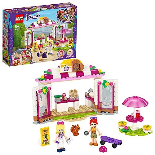 LEGO Friends Heartlake City Park Café, Set con Gelateria, Caffetteria e la Mini-doll di Stephanie, 41426