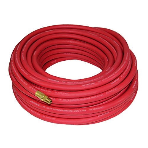 Good Year 12674 Rubber Air Hose Red