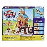 Play-Doh Builder – Pate A Modeler – Cabane dans Les Arbres, pour Enfants à partir de 5Ans
