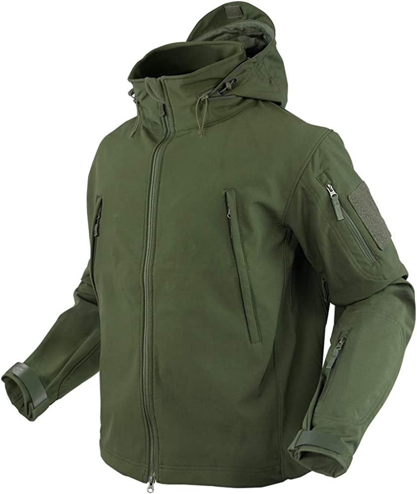 Condor Summit Soft Shell Tactical Jacket, Color Olive Drab, Size 3XL