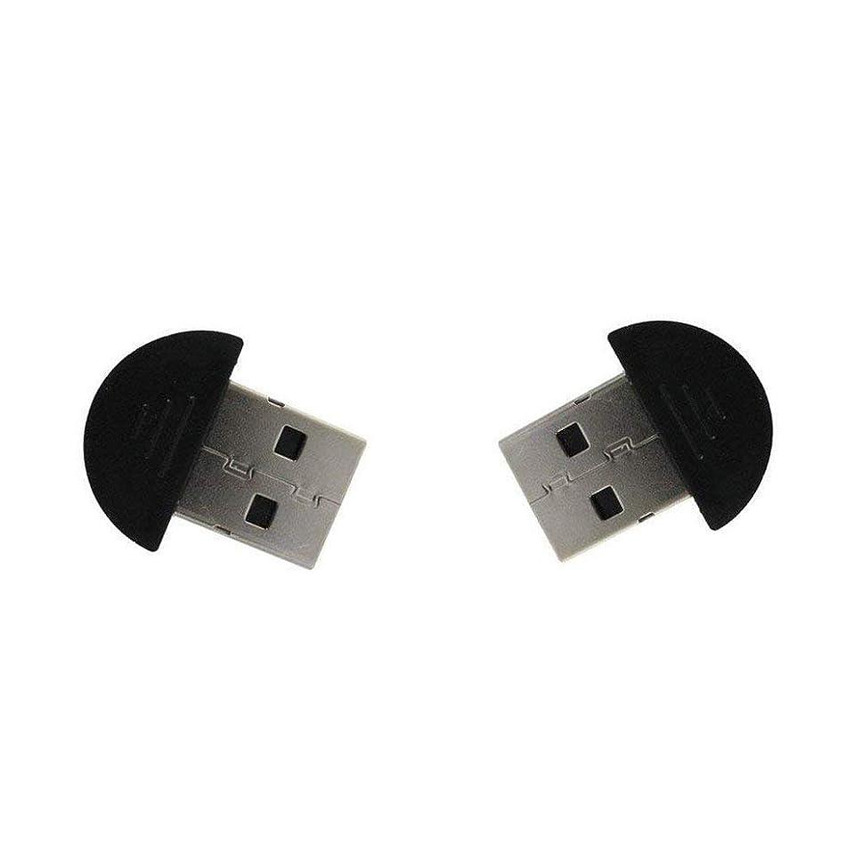神秘的な白雪姫保証金Tiny USB 2.0 ワイヤレス Bluetooth アダプター DONGLE (2個パック)
